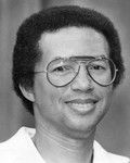 Arthur Ashe, a closeup view