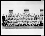 [African American Army Air Force group at Tuskegee Army Air Field, Alabama]