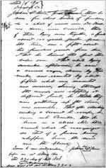 Affidavit of Jackson O'Brien: Dougherty County, Georgia, 1868 Sept. 23