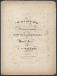 "Thumbnail for ""The Old Gum Tree"" Sheet Music"