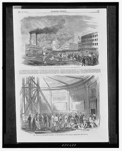 Departure of volunteers from Duqubue, Iowa, April 22, 1861