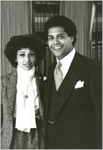 Maynard Jackson and Valerie Richardson Jackson, Atlanta, Georgia, 1976?