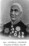 General Salomon; President of Haiti, 1879-88