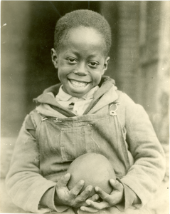 Study of a colored child, a beneficiary of the Red Cross drought relief work in Mississippi