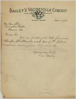 Letter: Atlanta, Georgia to Ben Stein, Macon, Georgia, 1927 Nov. 10