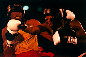 Frank Tate (left) vs. Dennis Milton, Boxers, North American Boxing Championships, Colorado Springs, from the series Shooting for the Gold