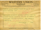 Rhodes University to James Meredith (Undated)