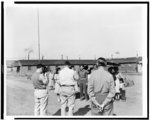 Tule Lake segregation center, Newell, Calif. May, 1943. First inspection tour of the War relocation authority's center ...