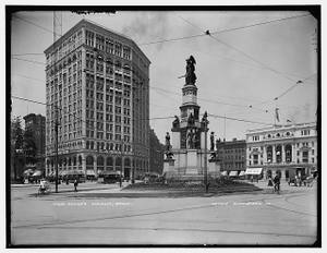 Soldiers' [and Sailors'] Monument, Detroit