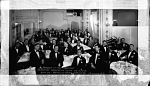 Banquet of the Musicians' Protective Association...Local 710 A.F.of M. Wash. D.C....Whitelaw Hotel , Apr. 14 '29 [acetate film photonegative, banquet camera format.]