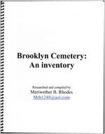Brooklyn Cemetery: an inventory