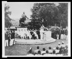 Maj. Gen. W. R. Weaver, delivering inaugural address initiating training of Negroes as military aviators for U.S. Army Air Corps