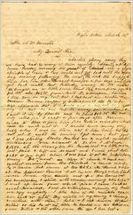 Letter, Loulie Feemster to Alex W. Feemster 3/10/1863