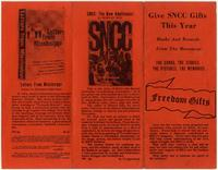 Give SNCC Gifts This Year
