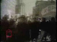 WSB-TV newsfilm clip of demonstrators protesting school segregation and Malcolm X speaking in favor of the school boycott in New York City, New York, 1964 March 16