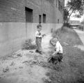 Jasper Wood Collection: Boys playing at Lakeview Terrace