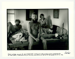 Frank Werber (far left) assisting Dr. David Rosensweet, Nicolas and Kate Kirsten during home delivery of their baby. In the mountains of Truchas, New Mexico at the foot ot the Sangre de Cristos. 1972