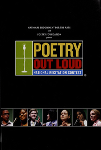 Poetry out loud national recitation contest