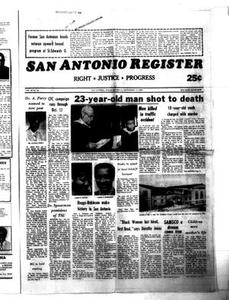 Thumbnail for San Antonio Register (San Antonio, Tex.), Vol. 49, No. 24, Ed. 1 Thursday, September 11, 1980 San Antonio Register