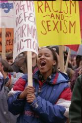 Affirmative action demonstration