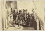 Slaves on deck of H.M.S. London, Zanzibar 1870