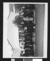 African American women's club group photograph, Los Angeles, ca. 1951-1960
