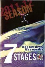 2011 - 2012 Season Program, 7 Stages Theatre, Atlanta, Georgia, 2011 - 2012. (8 pages)