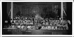 "Cast of ""The princess who could not dance"", a spring play by Browne Junior High School, 1935 [cellulose acetate photonegative, banquet camera format]"
