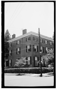 Slover House, East Front & Johnson Streets, New Bern, Craven County, NC