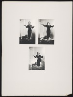 Zora Neale Hurston (poses from a Crow dance)