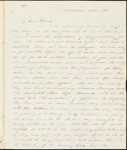 Letter from Abby Kimber, Kimberton, [Pennsylvania], to George Thompson, 1840 [November] 26