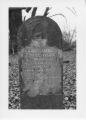 Alexandria Cemeteries Historic District: Jane Jones tombstone