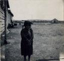 Ute Indian girl, White Rocks - Summer 1909
