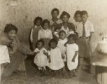 Needy African American family, Baltimore