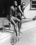 Sydney Poitier tests the water