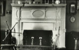 Camelsworthmore fireplace and hand-carved mantel (interior), Kent County, Maryland