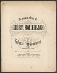 """Glory, Hallelujah"" Sheet Music"