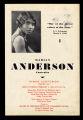 Marian Anderson Contralto, 1932