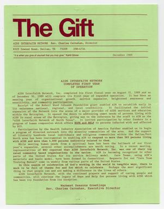 [The Gift] AIDS Interfaith Network, 1990