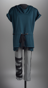 Costume worn by Mikayla Amin for performance in response to Freddie Gray