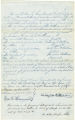 Bill of sale from La Fayette Watkins to his grandchildren Andrew, Francis A., Frederick L., and William P. Watkins for Negro slaves named Elizabeth, John, Judith, and Samuel
