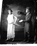 Dooley [male and female theatrical performers : nitrate film photonegative.]