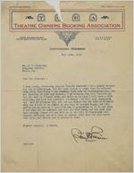 Letter: Chattanooga, Tennessee to Charles Henry Douglass, Jr., Macon, Georgia, 1925 Oct. 14