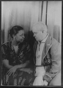 [Portrait of Ethel Waters and Carl Van Vechten]