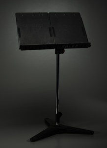 Music stand used by Ginger Smock