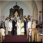 John Amos wedding portrait, Los Angeles, 1978