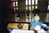 Katherine Dunham watching Dunham Dancers