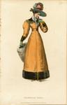 Promenade dress, Winter 1828