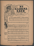 """My Alabama Lize: A Coon Love Song"" Sheet Music"