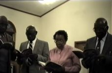 South Side Community Choir and shape note singers, Georgia, 1988 October 28